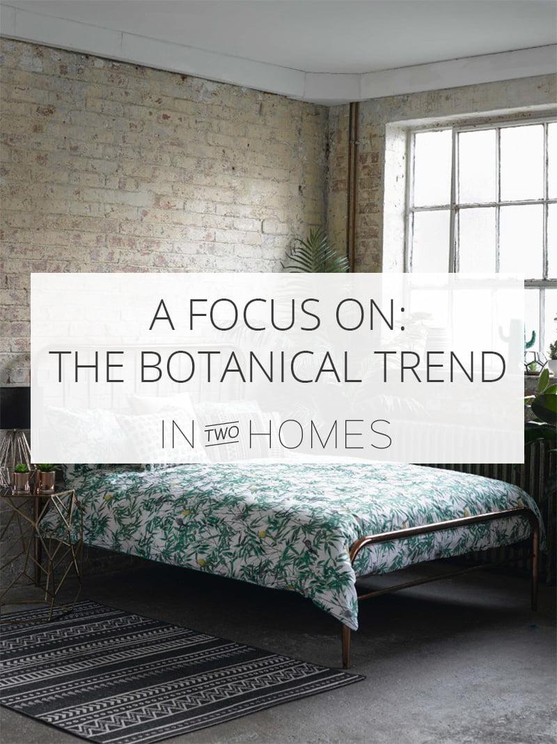 Botanical Trend Pinterest Image