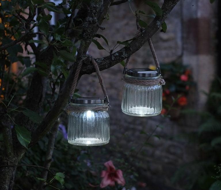 Clear Cornish Jar Lantern