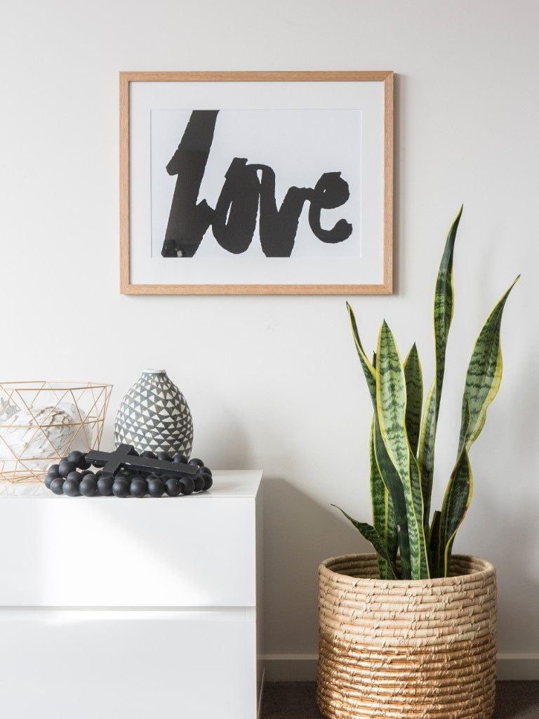 Rachel Kennedy Designs Black Love Framed Wall Art/Print.jpg