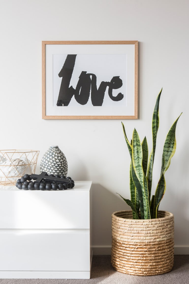 Rachel Kennedy Designs Black Love Framed Wall Art/Print.jpg