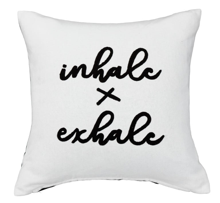 ARGOS HEART OF HOUSE INHALE EXHALE CUSHION
