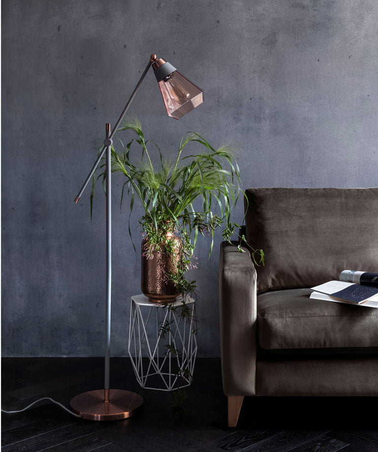 Marks and Spencer Brass Lamp | Autumn Styling