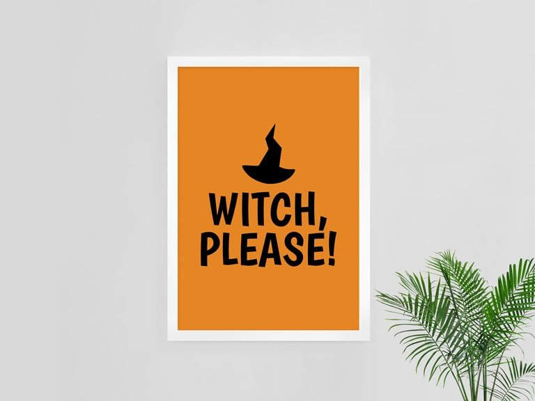 RV Designs Witch Please Poster | In Two Homes