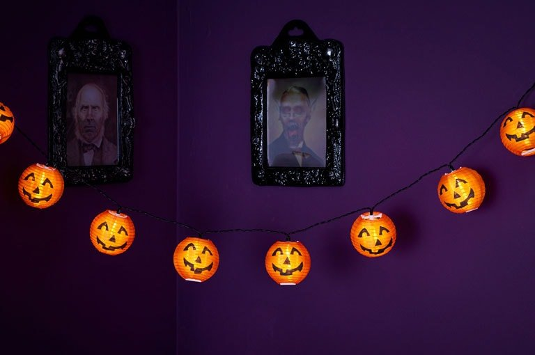 Wilko Pumpkin Lights | In Two Homes