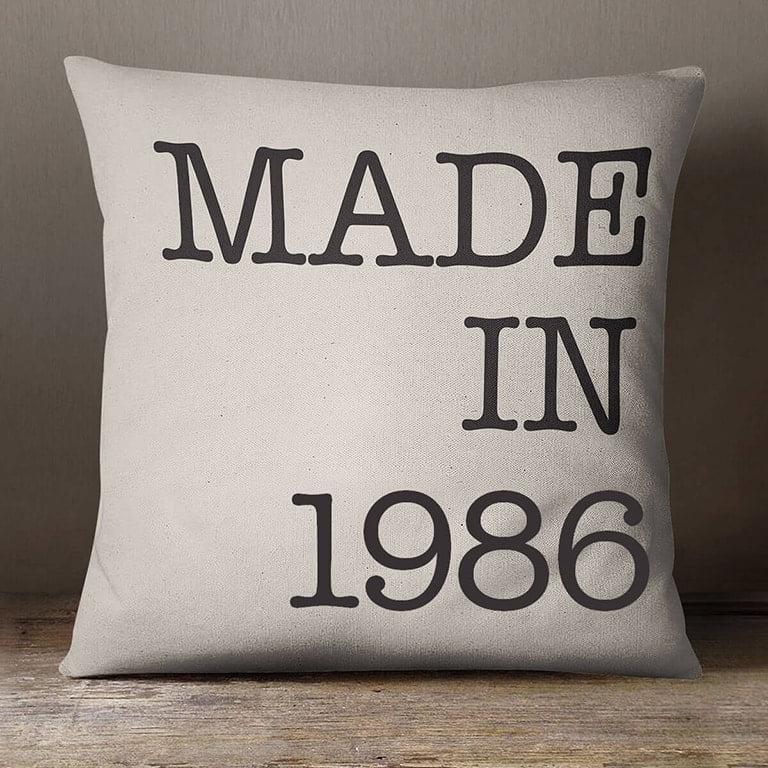 Made In Year Cushion