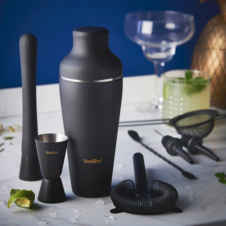 Matt Black Cocktail Set