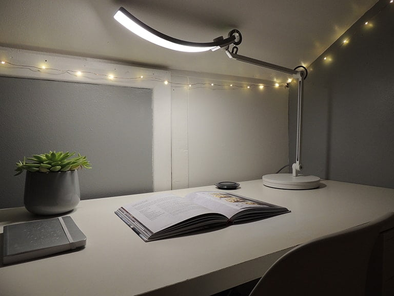 BenQ E-Reading Desk Lamp - Reading a Book