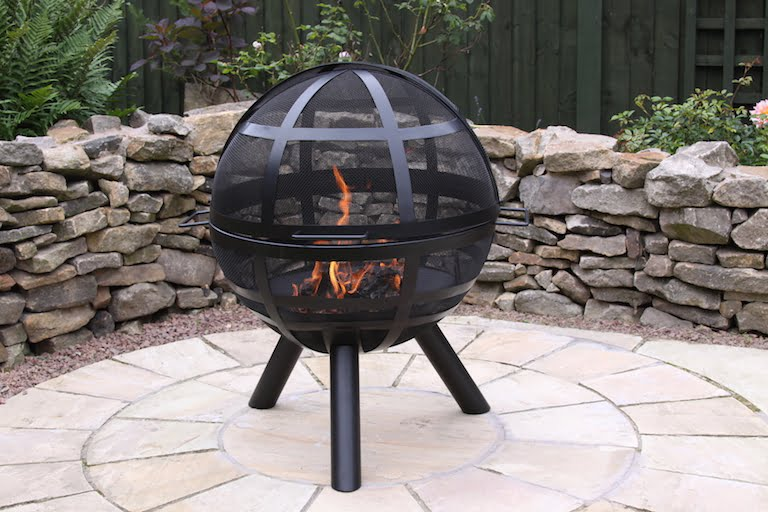 Gardeco ISON Ball Fire Pit Chiminea Shop