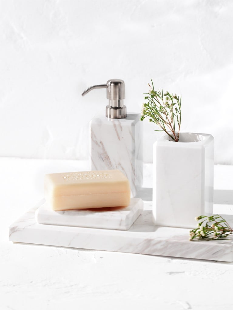 El Corte Inglés Decoración marble bathroom accessories
