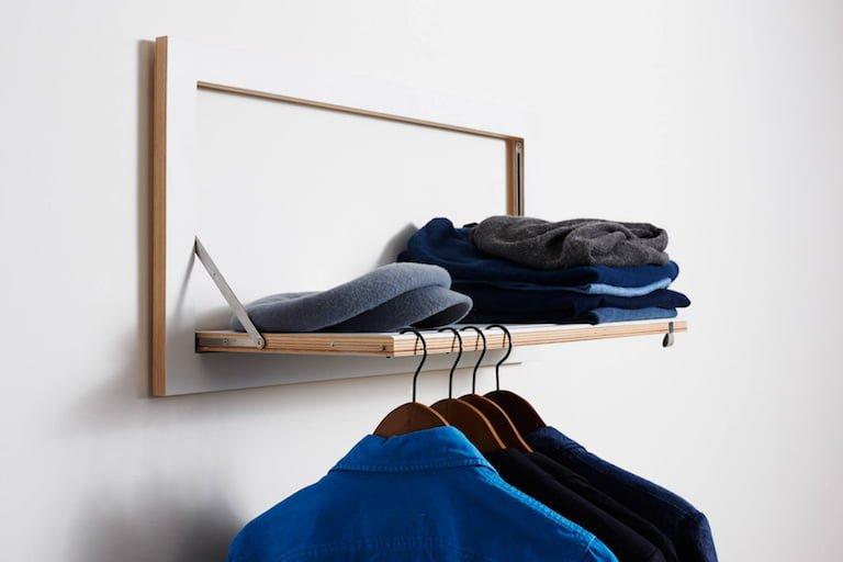 Oostor Flaepps Clothes Rail Hangrail