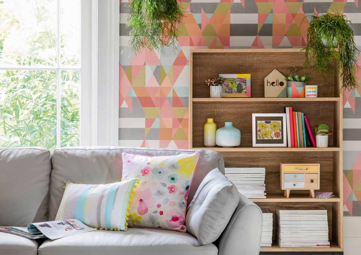 Tesco spring summer 2018 homeware in two homes