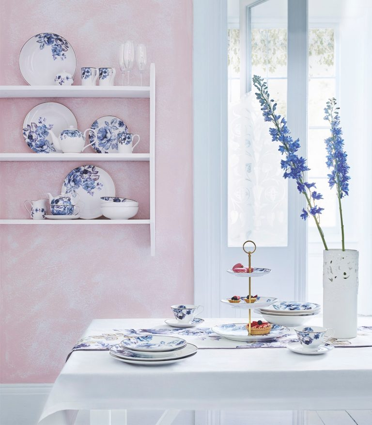 Fox & Ivy Jardin Dinnerware | Tesco SS18