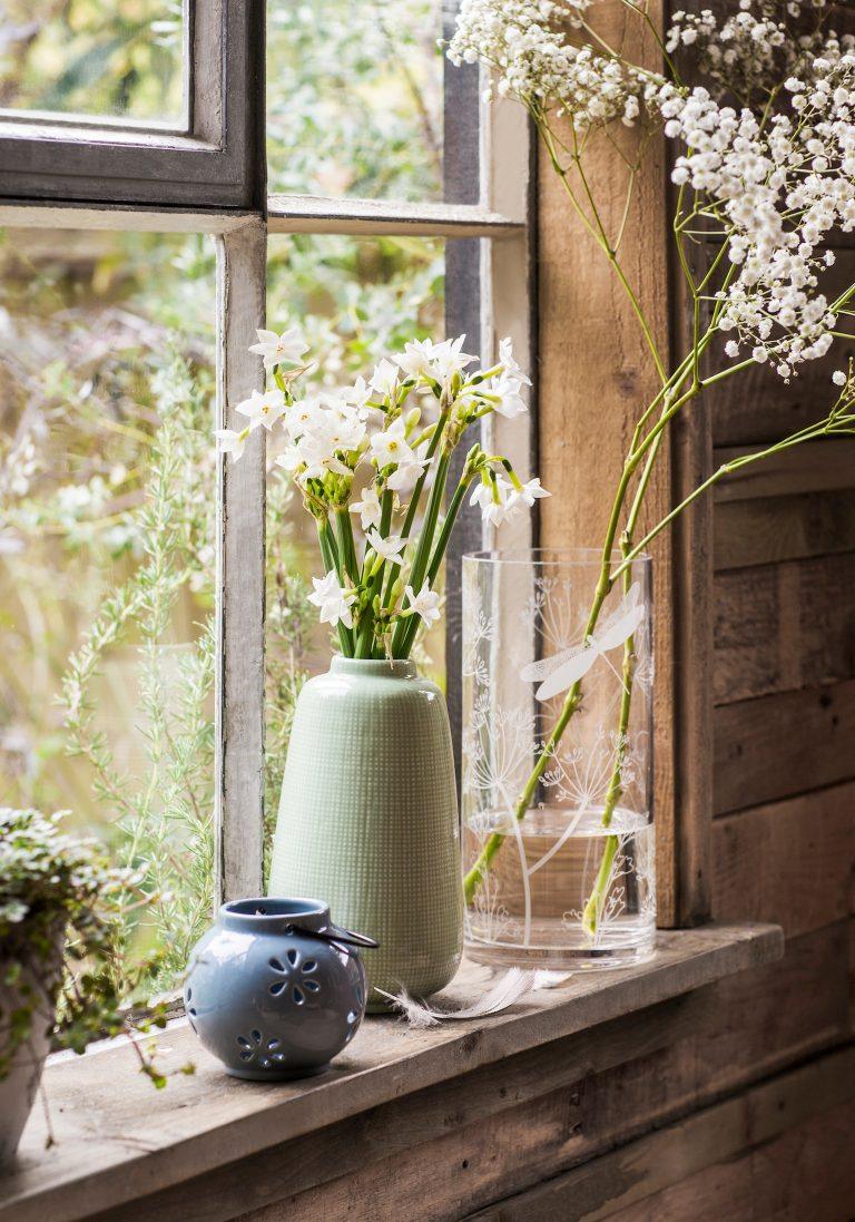 Willow vases and accessories tesco ss18