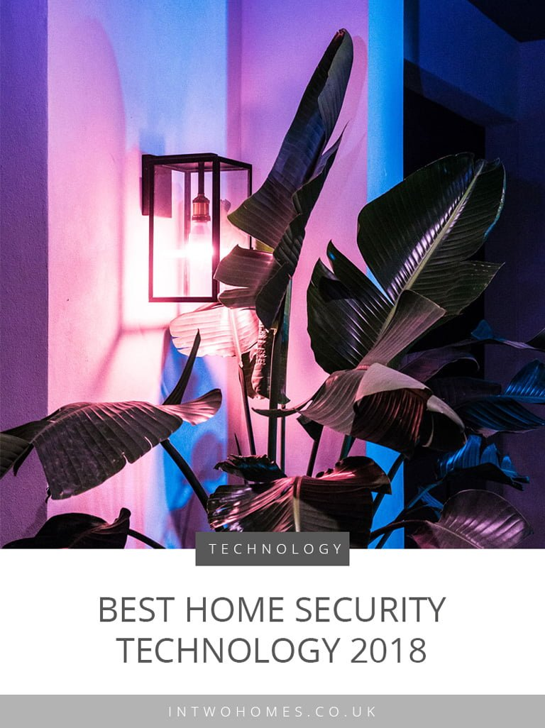 Best Home Security Technology 2018 - Pinterest Post