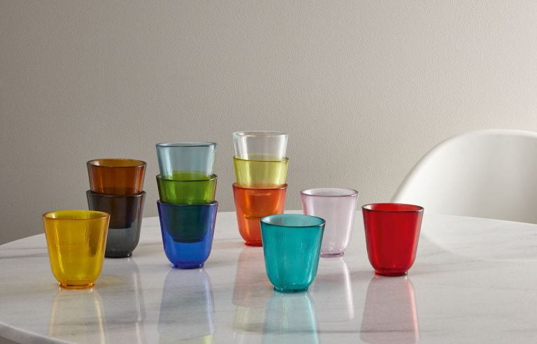 Eve Muted Tonal Light Glass Tumblers