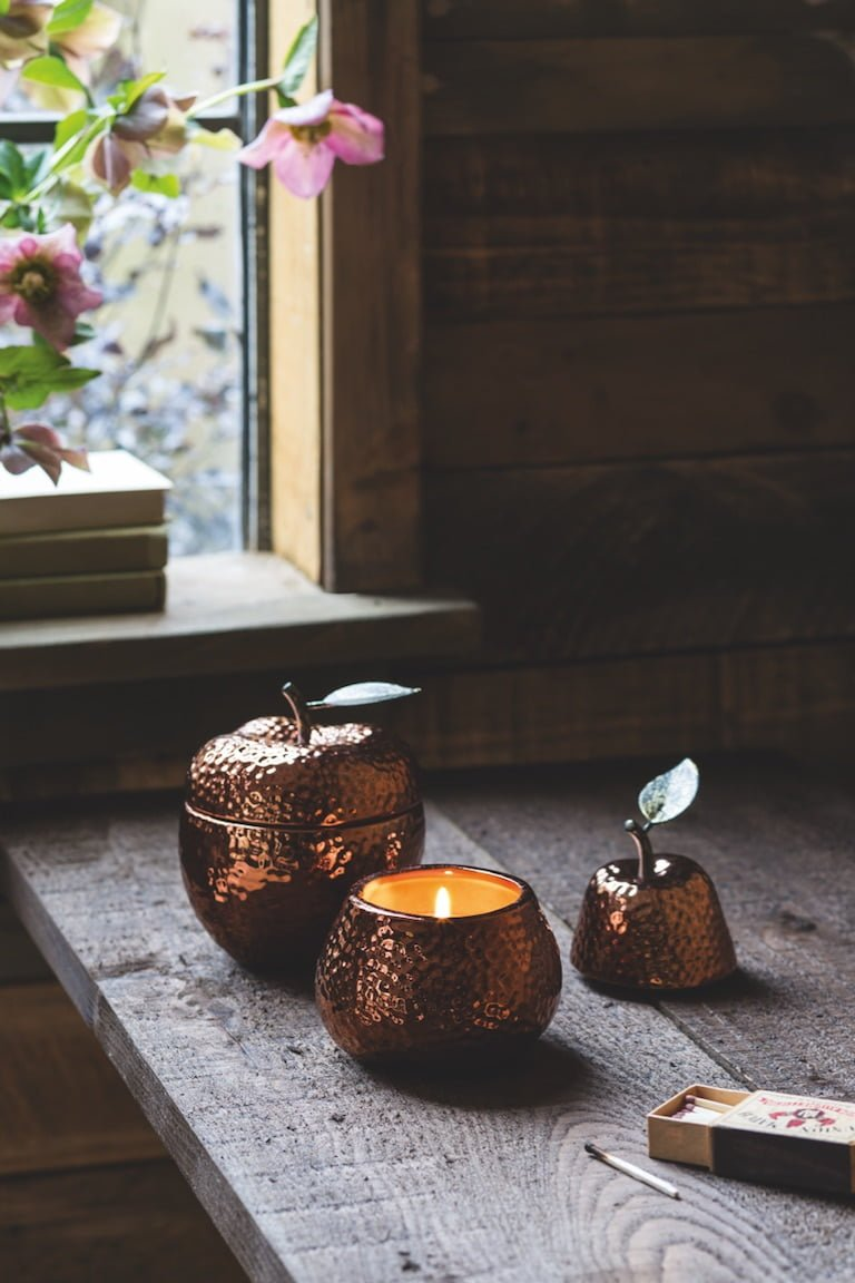 Sweet Chestnut Candles Tesco AW18 Homeware