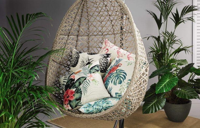 Aldi Summer Tropics Print Cushions