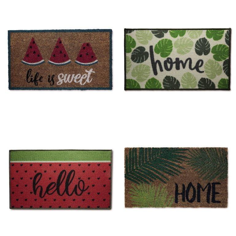 Aldi Tropical Doormats