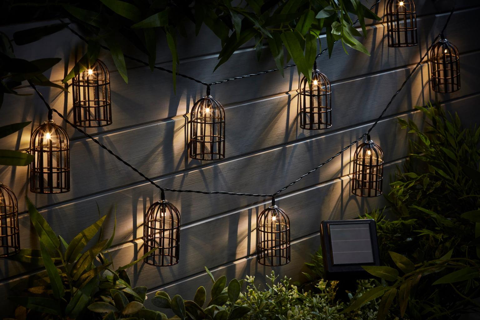 Birdcage Solar Lights