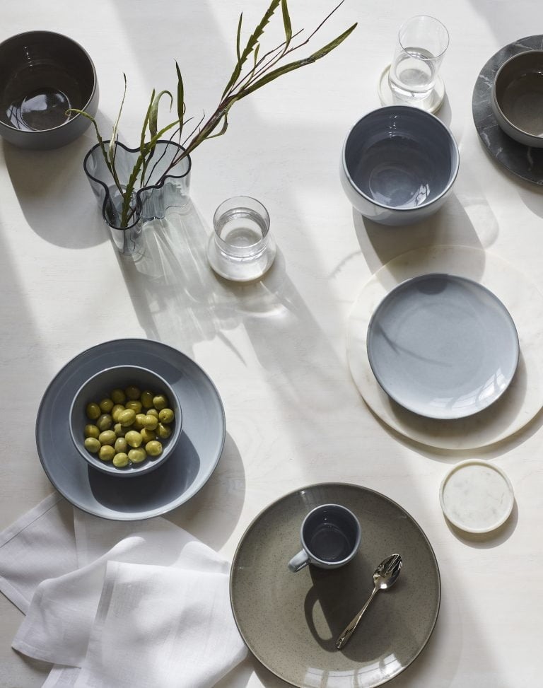 John Lewis Plates and Mugs Earth Tone Blues & Must-Have Homeware Summer 2018 - June Homeware u0026 Furniture Favourites