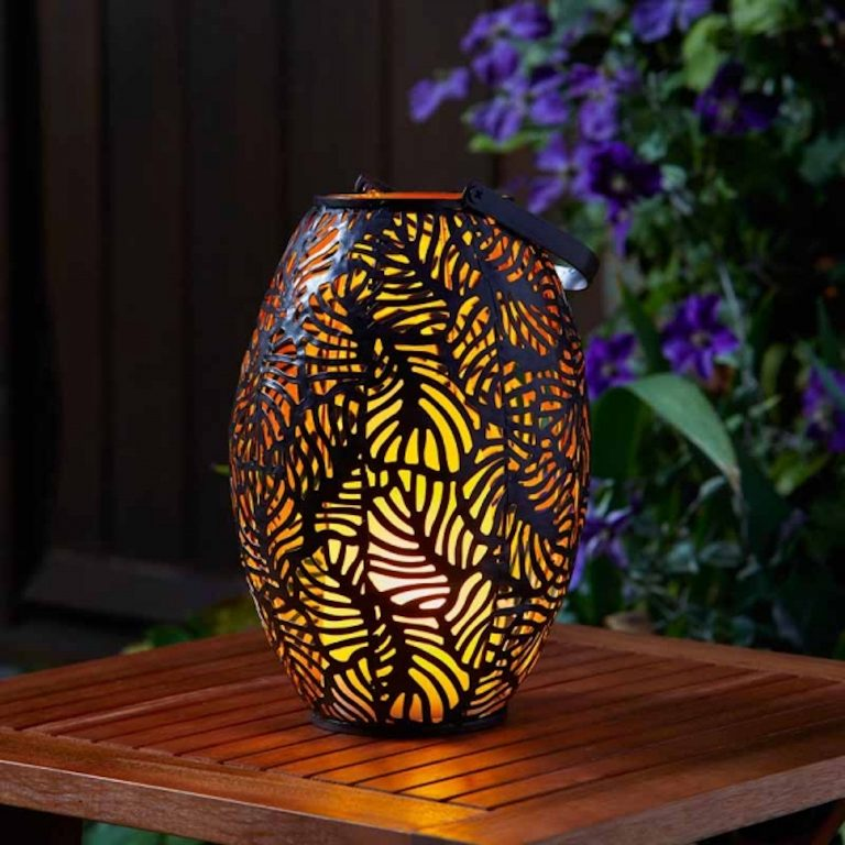 Smart Garden cool flame rustic lantern lifestyle