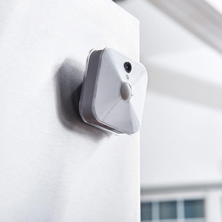 Blink Camera on Wall | Homeware Technology Gift List