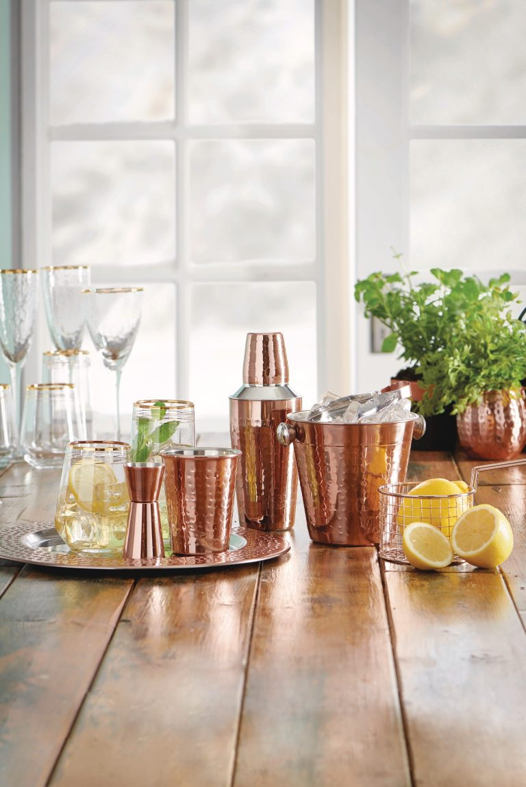 Wilko Cocktail Set Copper Kitchen Collection