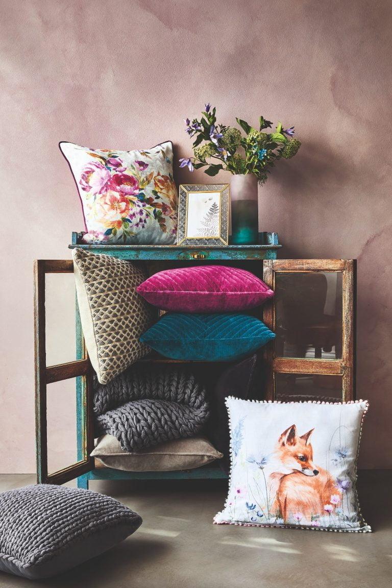 Tesco Fox & Ivy SS19 Cushions