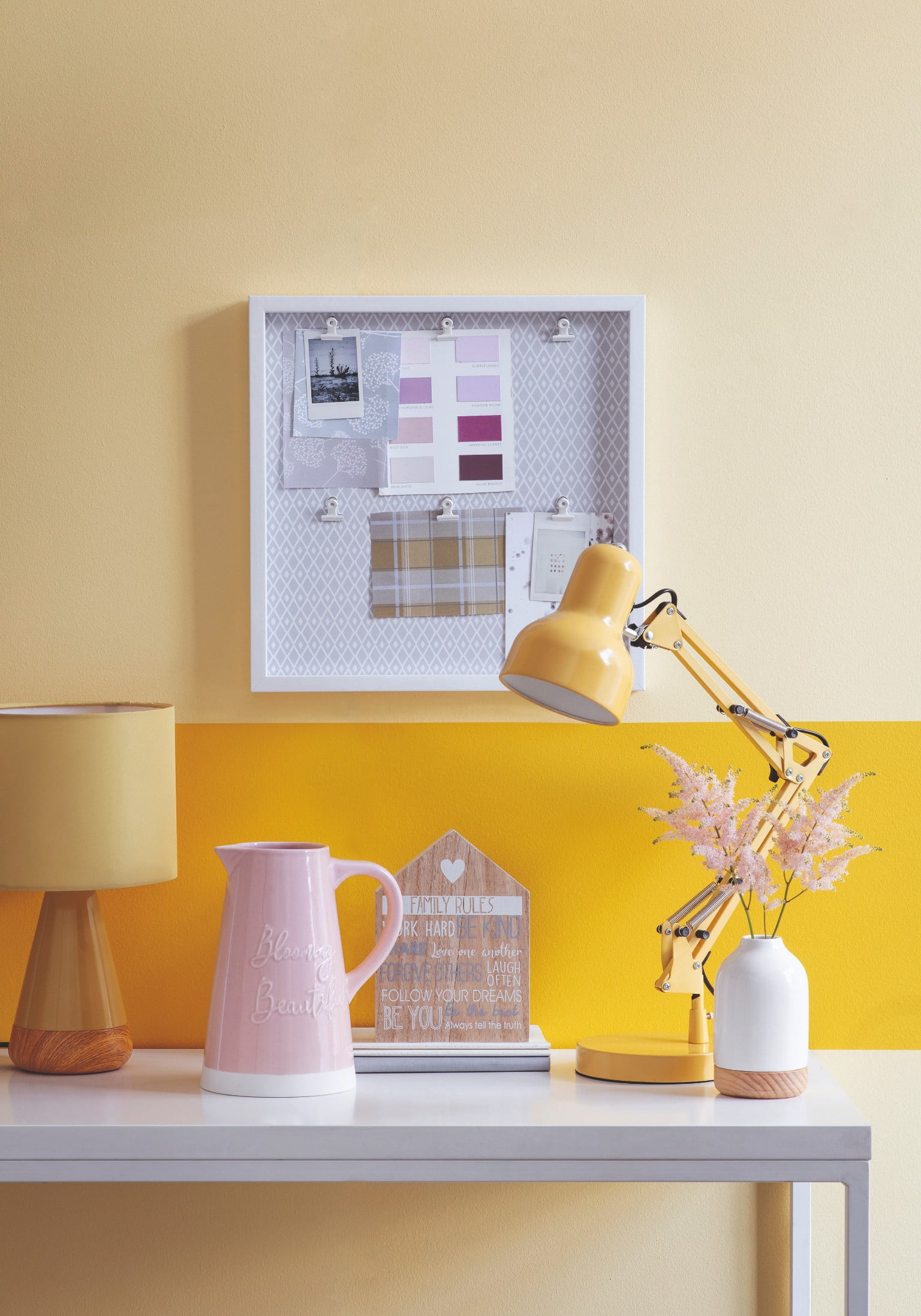 Tesco Home SS19 Lamp and Desk Accessories