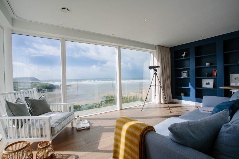 Cornwall Carn Mar Sea View Living Room