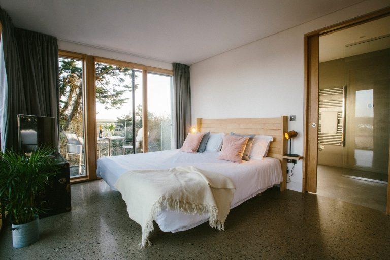 Cornwall Dry Creek House Bedroom