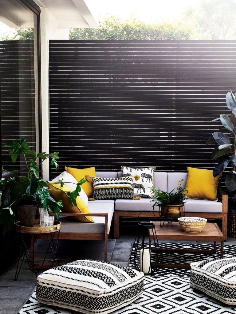 Argos Home Aluminium Corner Sofa Set
